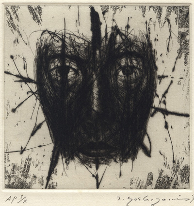 Toshio Yoshizumi : «Visage U (Undulation) 1»