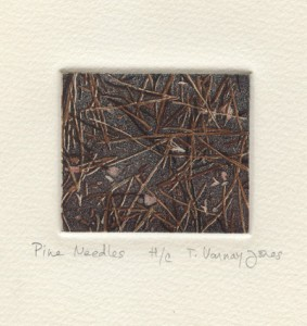 Theodora Varnay Jones : «Pine needles»