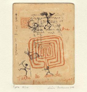 Liisa Malkamo : «Arctic labyrinth I»