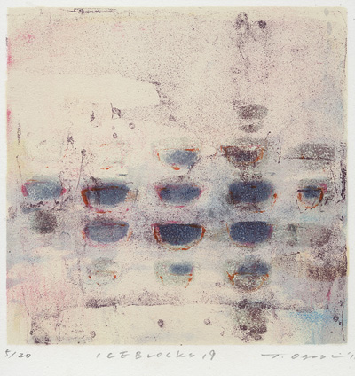 Tomoko Ogoshi : «Ice blocks – 19»