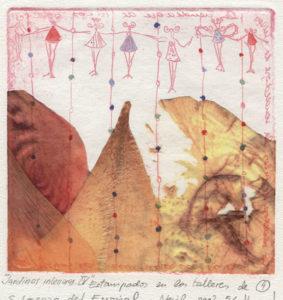 Gloria Santacruz Tarjuelo : «Jardines interiores – IV»