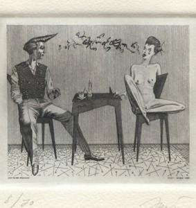 Herbert Just : «Zum Tee Bei Stefanie»