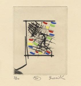 Jaromir Svozilik : «Portrait of the artist»