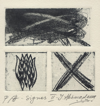 Ioulia Akhmadeeva : «Signos – II»