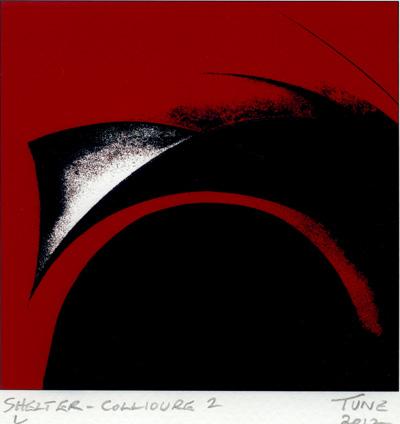 Geoff Tune : «Shelter - Collioure – 2»