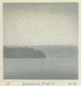 Susan Rushforth : «Estuarine mist – IV»