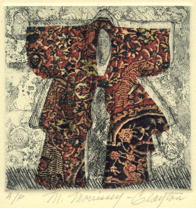 Merijean Morrissey : «Red kimono»
