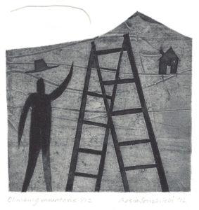 Basia Smolnicki : «Climbing mountains»