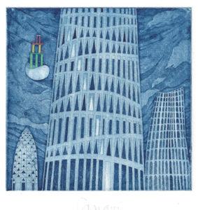 Lanfranco Lanari : «Città fantastiche – IV»
