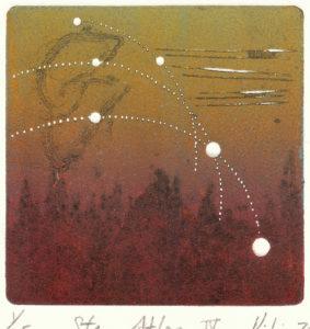 Peili Huang : «Star atlas – IV»