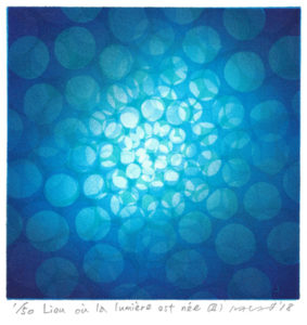 Masahiro Kasaï : «Lien où la lumière est née – II»