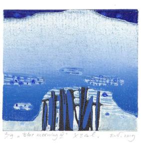 Daliute Ivanauskaite : «Blue morning – IV»