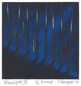 Zbigniew Purczyński : «Bluelight – III»