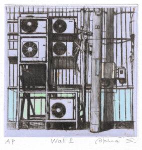 Akira Suzuki : «Wall – II»